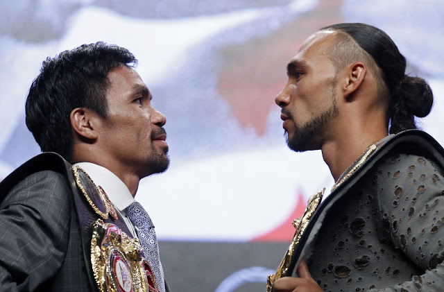 Many Pacquiao beats Keith Thurman