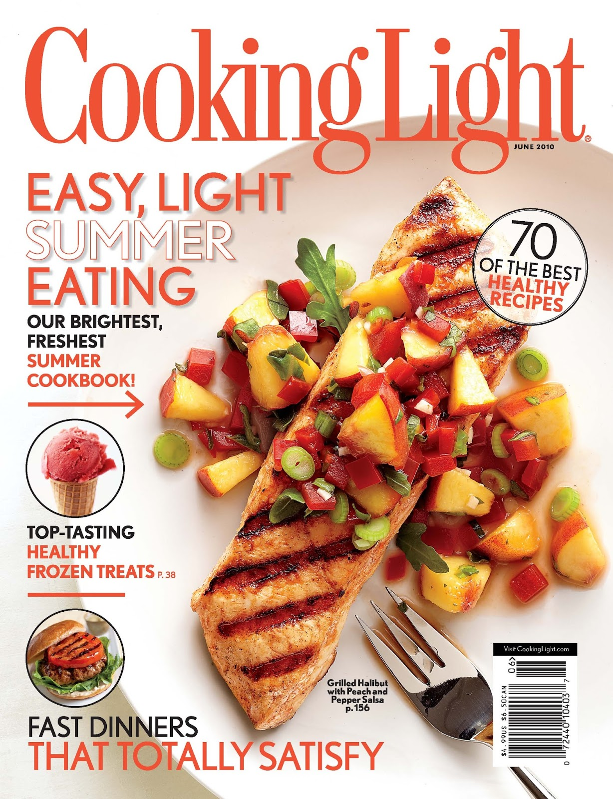 Find quick and healthy recipes, nutrition tips, entertaining menus, and fitness guides to help you make smart choices for a healthy lifestyle from Cooking Light magazine.