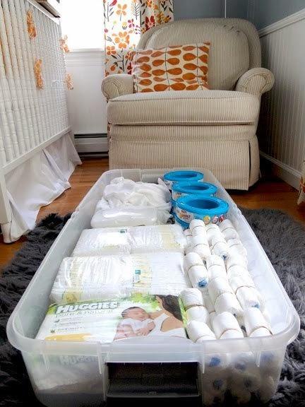 How to Organize a Small Nursery   Small Nursery Ideas