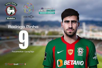 PES 2021 Faces Rodrigo Pinho by CongNgo