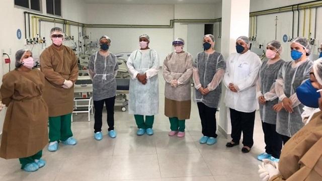 Complexo Hospitalar de Patos dobra oferta de leitos de UTI Covid