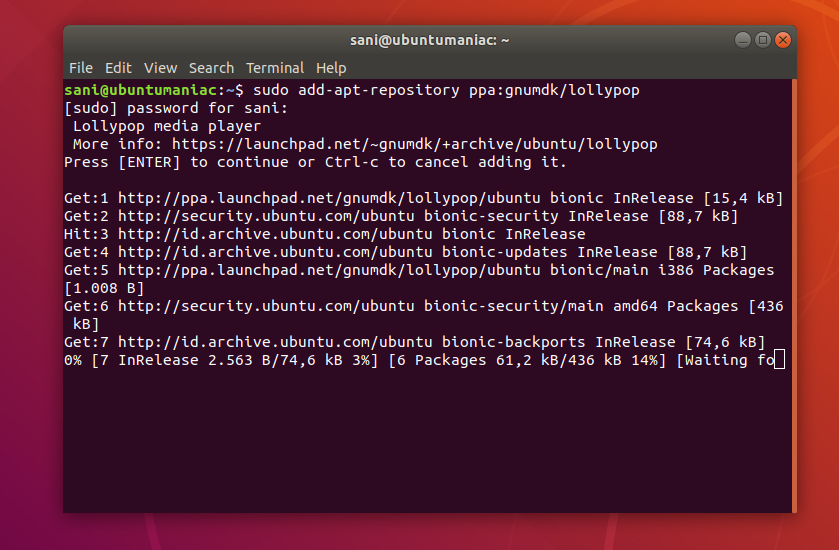 Install Lollypop 1 1 1 on Ubuntu and Linux Miny system [PPA