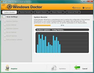 تحميل برنامج Windows Doctor لتسريع الويندوز ومسح مخلفات النظام بشكل كامل ويقوم بمعالجة أخطاء الويندوز وتصحيحها مجانا.