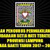 Susunan Pengurus Perwakilan Pusat Persaudaraan Setia Hati Terate (PSHT) Provinsi Lampung