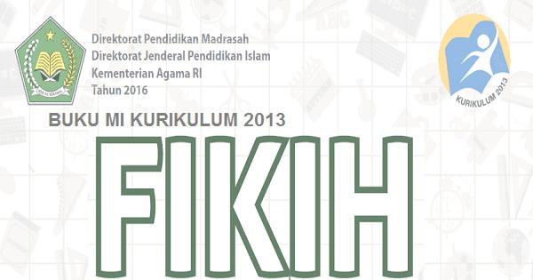 Downoad Buku Fiqih Kelas 3 MI Kurikulum 2013 PDF Revisi