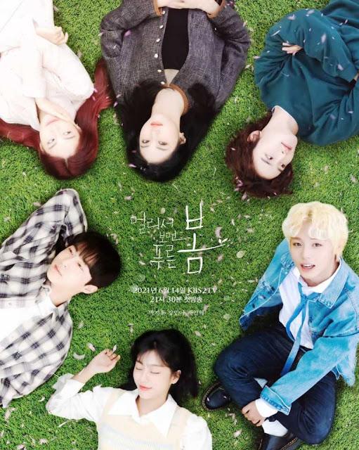 Daftar Nama Pemain Drama Korea At a Distance Spring is Green 2021 Lengkap