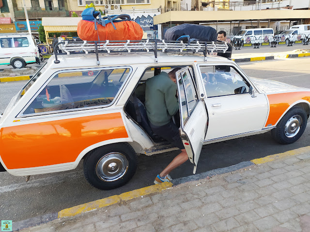 Taxi en Aswan, Egipto
