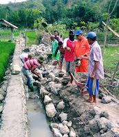 Hadirkan Saluran Drainase, Koordinator P3A Jatiwangi Apresiasi Kepedulian BWS NTB