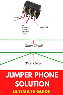 mobile phone jumper setting