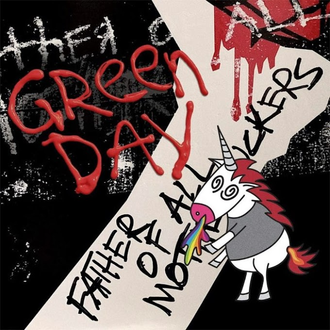 Encarte: Green Day ‎- Father Of All...