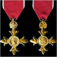 Civilian medal of an Officer of the Order of the British Empire
