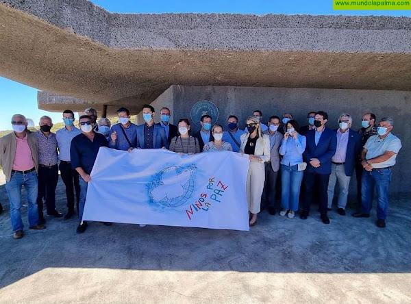 El Cabildo y las Escuelas Unitarias designan el jardín del Centro de Visitantes del Roque como Rincón Insular por la Paz