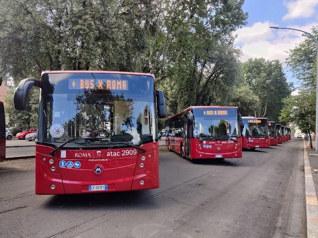 """""""Più bus per Roma"""": entrano in servizio 10 nuovi autobus Citymood"""