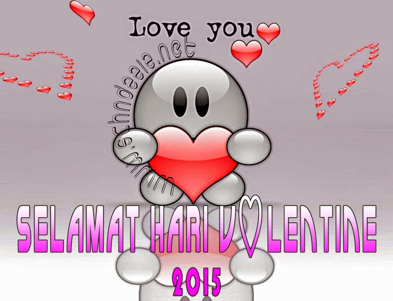 Gambar Kata Ucapan Romantis Animasi Valentine 2015