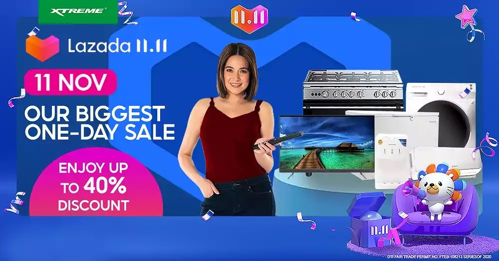 XTREME - Lazada 11.11 Biggest One Day Sale