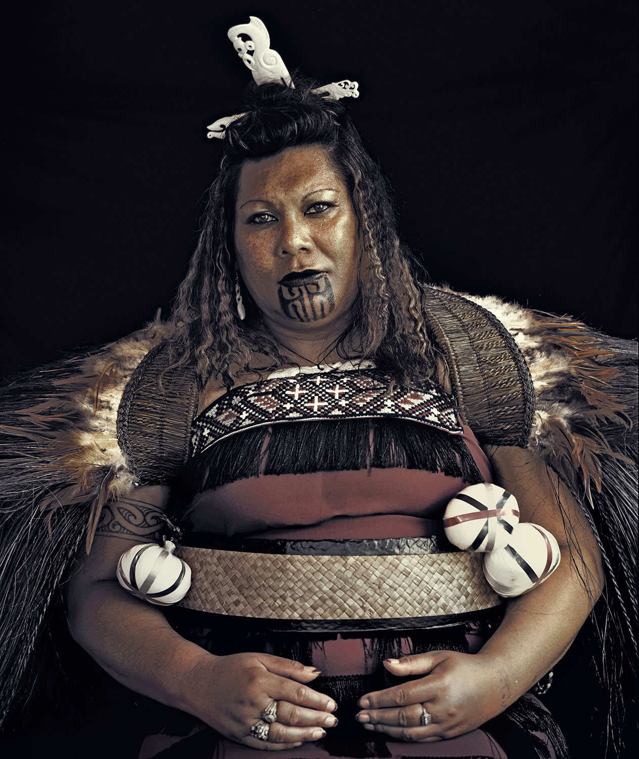 Maori Man: White Wolf : Stunning Portraits Of The Maori People By