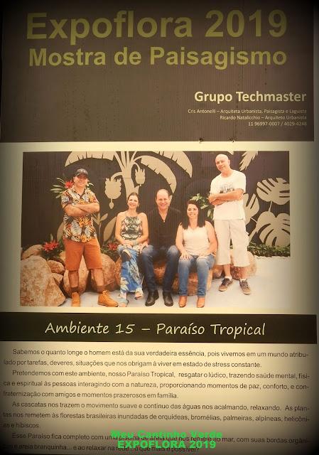 Mostra de Paisagismo - EXPOFLORA 2019