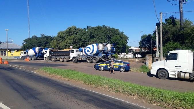 PRF flagra quase 200 toneladas de excesso de peso durante fiscalização no Rio Grande do Sul