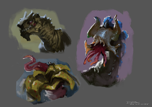 illustration, fantasyart, art, douglas deri, deri,creature design,paint,photoshop,sketchbook, fantasyart
