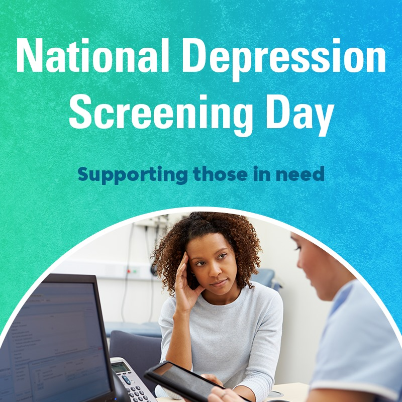 National Depression Screening Day Wishes for Whatsapp