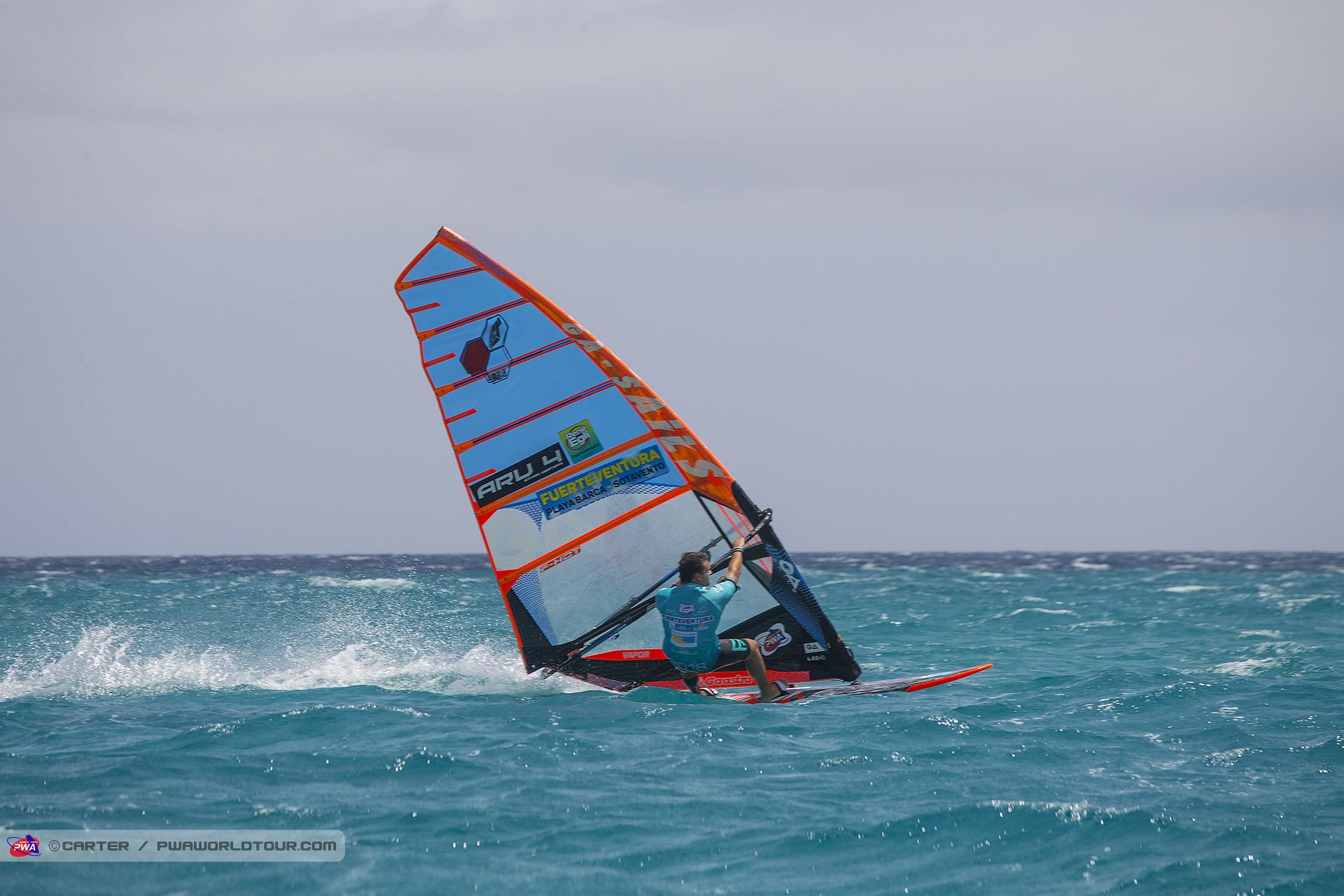 Nathan Westera nas águas de Aruba