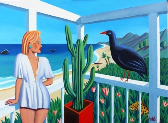 Французский художник. Jacques Loustal