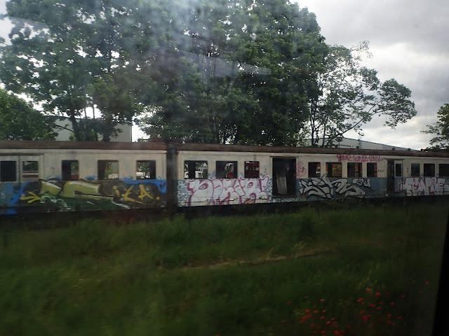 Stare wagony kolejowe (Warszawa)