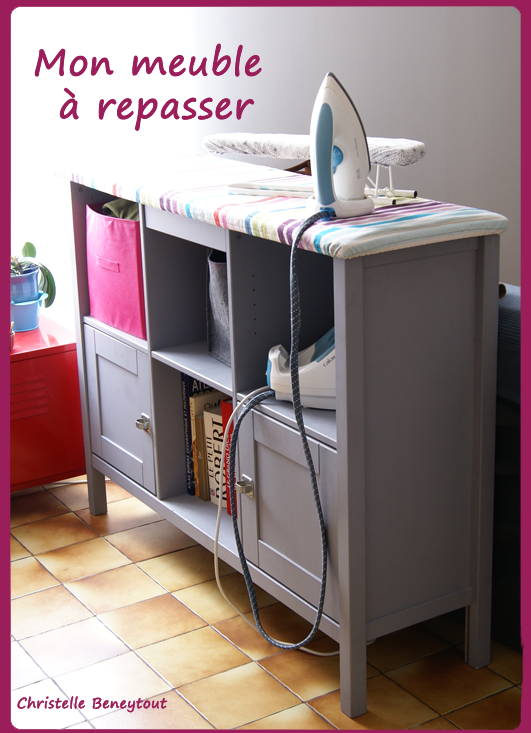 Christelle beneytout le blog mon meuble de repassage for Meuble bureau qui se ferme
