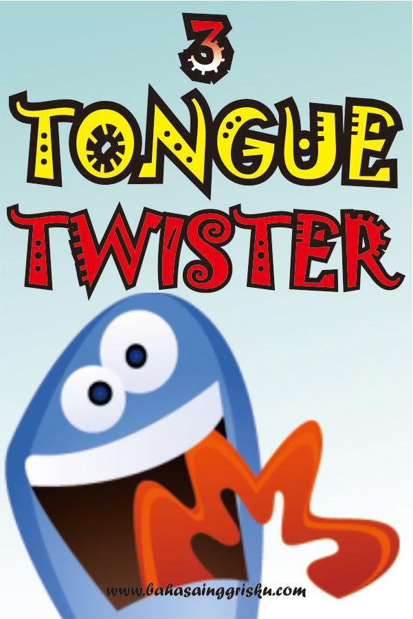 belajar bahasa inggris, tongue twister,