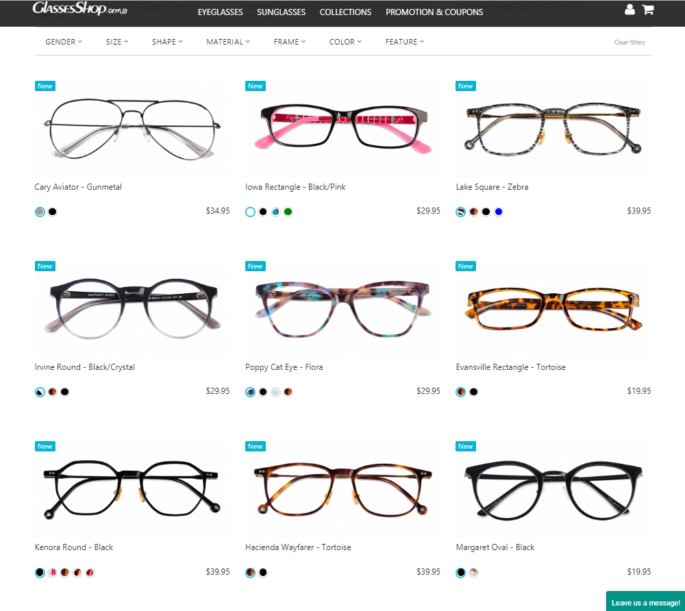 814c978aac1 ... as pain free as possible. I wanted to outline the process here just to  give an idea of what goes into buying glasses online for those who have  never ...