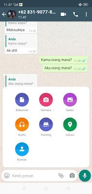 cara melacak keberadaan seseorang melalui whatsapp
