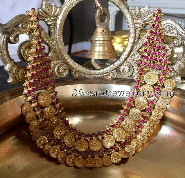 Two Layer Kasu Necklace
