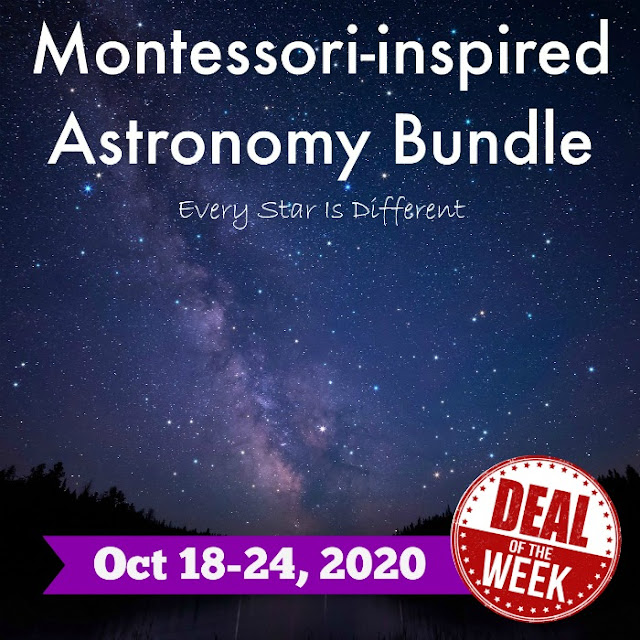 Deal of the Week: Montessori-inspired Astronomy Bundle
