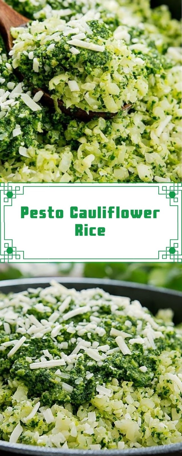 Pesto Cauliflower Rice