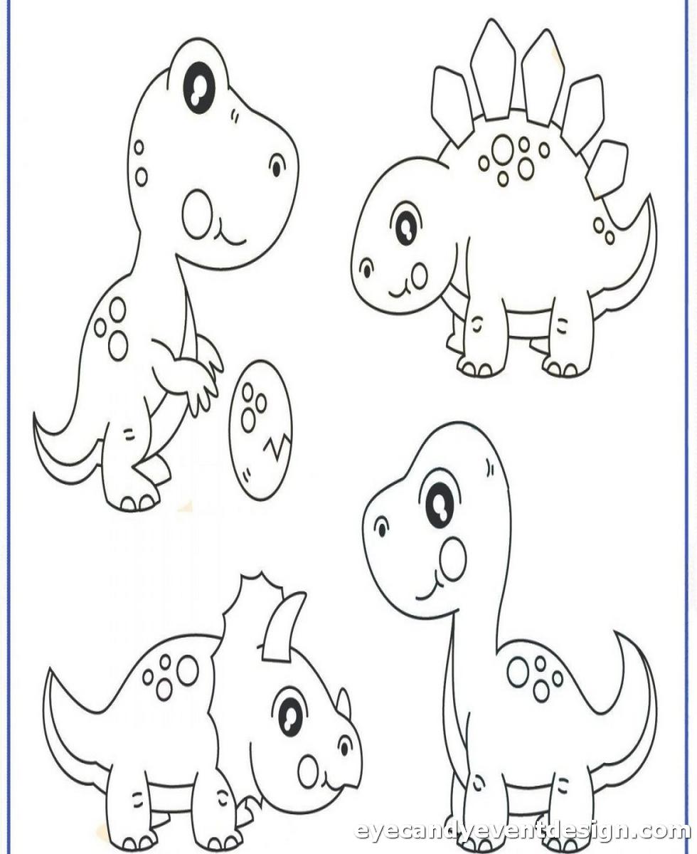 Malvorlagen Dinosaurier Zum Ausdrucken