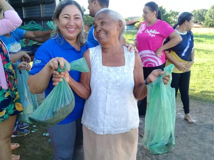 TRADIÇÃO - Prefeitura de Aldeias Altas realiza entrega de peixes na Semana Santa
