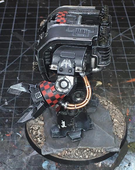 Dark Angels Legion Leviathan Pattern Siege Dreadnought WIP