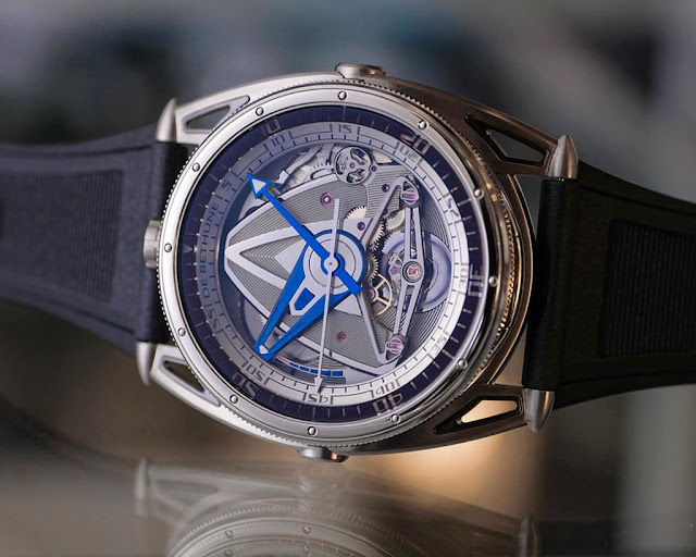 De Bethune DB28 GS Grand Bleu