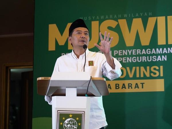 Syaiful Huda Kembali Pimpin DPW PKB Jabar 5 Tahun ke Depan