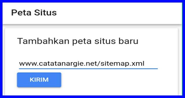 Cara submit sitemap ke googele webmaster