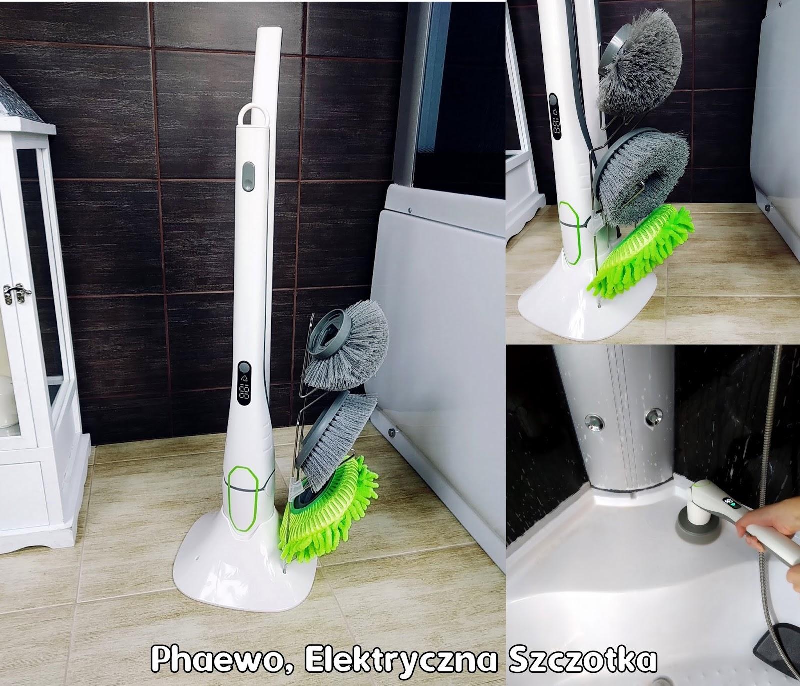 Szczotka elektryczna PHAEWO - sprzątanie dawno nie było tak proste!