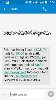 paket internet telkomsel android