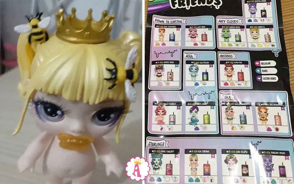 Новинки кукол Poopsie 2020 Fantasy Friends пчелка