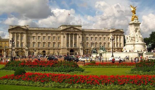 Visita ao Palácio de Buckingham em Londres