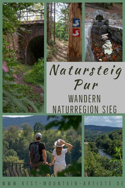 Natursteig Pur  Erlebnisweg-Sieg  Wandern Naturregion-Sieg 31
