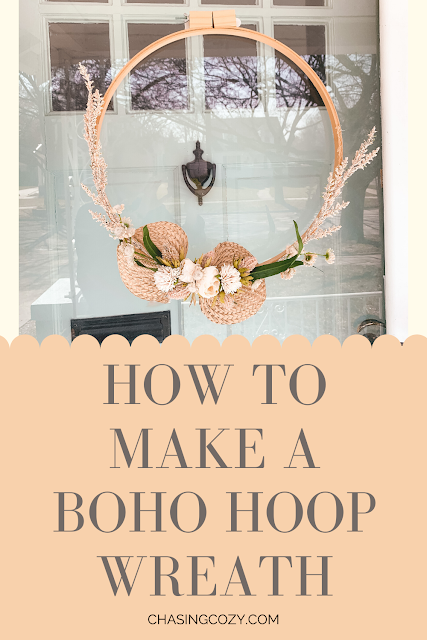 How to make a boho fall wreath