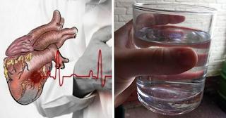 Ο άγνωστος ρόλος του νερού στη καρδιακή προσβολή