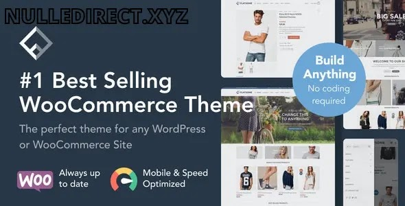 Flatsome 3.13.3 Multi-Purpose Responsive WooCommerce Theme Nulled
