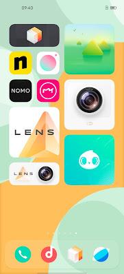 vivo OriginOS' desktop