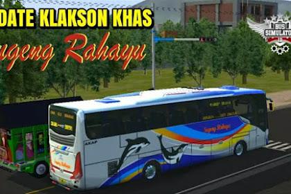 Kode Name Klakson Khas Sugeng Rahayu BUSSID 3.4.3